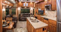 DRV Mobile Suite 5th Wheeler Interior