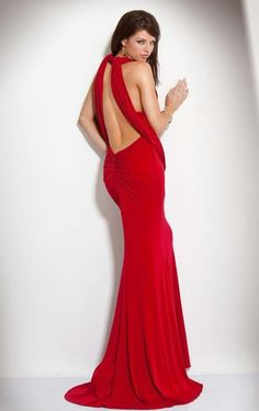 Buy it Now..! Hot & Stylish Red Porm Dress.