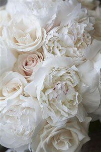 white roses and peonies - my favourite