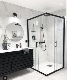 Most popular ways to elegant bathroom design trends 26 – fugar Modern Luxury Bathroom, Bathroom Design Luxury, Minimalist Bathroom, Modern Bathroom Design, Modern Marble Bathroom, Small Bathrooms, Contemporary Bathrooms, Bathroom Goals, Bathroom Layout