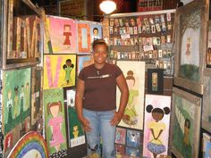 Hand Painted, All pieces are cut, sanded, and hand made by Dayo Johnson, Child of God on reclaimed wood, by Dayoart on Etsy. East Nashville Artist, Dayo Johnson, Owner of Dayo Art. Acrylic on repurposed wood. Art Show at Celebrate Nashville. Child of God series   Dayoart.etsy.com, children of all races, multicultural. Original art representing, peace, love, diversity, and unit, Art show booth, art and craft show booth, trade show booth, gift for him, gift for her, original handmade art…