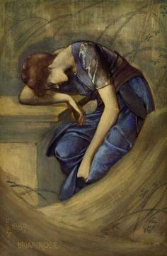 Edward Burne Jones - Briar Rose (1889)