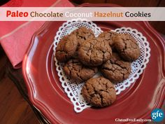 Paleo Chocolate Coconut Hazelnut Cookies from Gluten-Free Easily