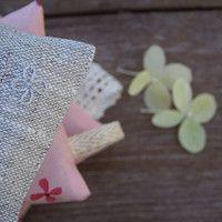 Lavender sachets - (linen/cotton)