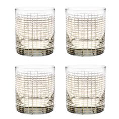 ad323607416e Culver Gold 22k Streamlined Pattern 11-Ounce Old Fashioned Glass (Set of 4)