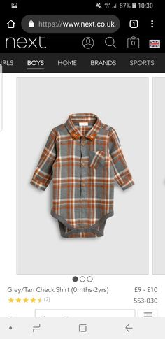 - would need to see how material and buttons feel. Boys Home, Check Shirt, Plaid, Buttons, Grey, Sports, Tops, Women, Fashion
