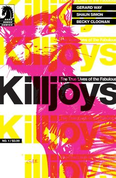 The True Lives of the Fabulous Killjoys #1 (Gerard Way variant cover) [Order - http://www.tfaw.com/Profile/The-True-Lives-of-the-Fabulous-Killjoys-1-Gerard-Way-variant-cover___425168]