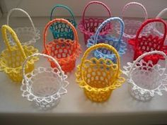 Lace Tea-Cup By Miss Rose Sister Violet - Diy Crafts - Marecipe Easter Crochet Patterns, Crochet Patterns For Beginners, Crochet Doilies, Crochet Flowers, Crochet Home, Hand Crochet, Crochet Baby, Crochet Needles, Crochet Stitches