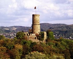 Bad Godesberg, Germany.  My mom's hometown.  She used to walk on top of the castle as a child.
