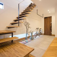 Home Building Design, My Home Design, Home Interior Design, Interior Styling, Building A House, House Design, Stairs Handle, Outside Patio, My House