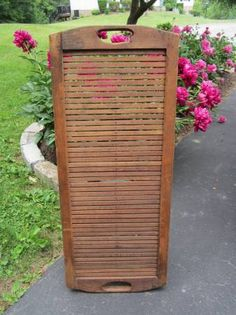 This is a rug loom called a brda, budlo or krasna and it's strung between posts or trees.  It was used in coal patches and milltowns in Western Pa. I'd love to know if it was used in other parts of the country.