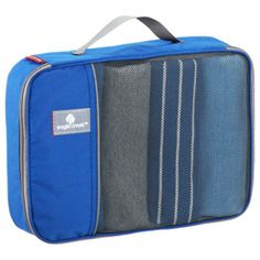 The Container Store > Eagle Creek® Blue Pack-It® Cubes. I have thought about buying these a lot, I wonder if they work.