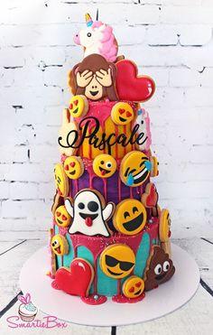 Savory magic cake with roasted peppers and tandoori - Clean Eating Snacks Pretty Cakes, Cute Cakes, Emoji Cake, My Birthday Cake, 10th Birthday, Birthday Ideas, Pear Cake, Cake Wrecks, Girl Cakes