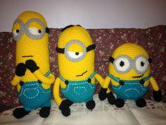 Amigurumi Minion Tarifi : Amigurumi minion modeli yapımı amigurumi crocheted toys and crochet