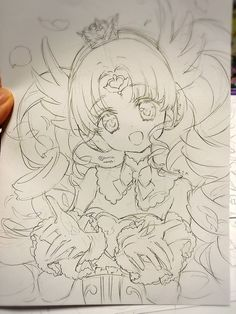 I think that's Falulu/Faruru from the Idol Anime Pripara. ^^