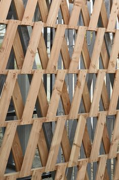 Image 19 of 27 from gallery of Reconstructed Past / MABIRE REICH Architectes. Photograph by Guillaume Satre Cladding Panels, Wood Cladding, Wood Architecture, Architecture Details, Architectural Writing, Concrete Fence Wall, Outdoor Wood Burner, Palette Deco, Timber Screens
