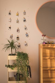 I want to have one of these Polaroid fairy light walls in my room. Dream Rooms, Dream Bedroom, Room Decor Bedroom, Uni Room, Room Goals, Dining Room Inspiration, Aesthetic Room Decor, Home And Deco, My New Room