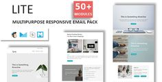Lite - Email Template Multipurpose Responsive with Stampready Builder Access by fourdinos LITE- Multipurpose Responsive Email Template   Stamp Ready Builder LITE is a Multipurpose responsive email template designed for Corporate, Office, Business and general purposes. Access to Stampready Template Builder FeaturesMaxim