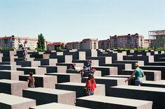 Berlin Holocaust Memorial by Peter Eisenman + Richard Serra