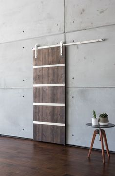 Add a high-end statement to your home with the Modern 5 Panel Sliding Barn Door. Customize this barn door to fit any decor. Shop now!