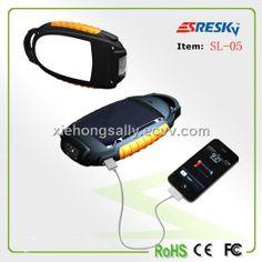 Portable Solar Camping Lantern with Charger (SL-05) - China camping light, Srysky