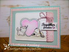 Project by: Christiana Reuling using blendable pencils only and a @CraftersCompanion stamp