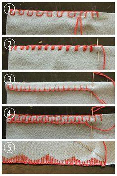 `DIY 5 Blanket Stitch Variations and Tutorials.'