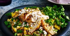 This zesty Morrocan chicken salad is perfect as a main or side dish.