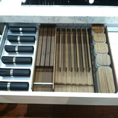 kitchen drawer from poggenpohl at #dwellondesign #dod2012