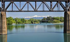 Sacramento river runs right through the middle of town and Mt Lassen in the backgroud. I was lucky enough to be born and raised in such a beautiful town. Redding ca!