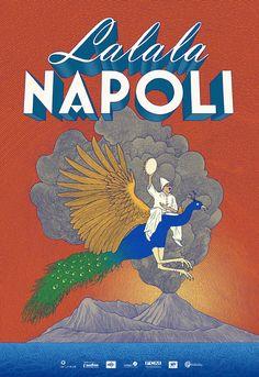 Lalala Napoli : Disperato [2017] - ATELIER HURF   Yannis Frier Poster, Comic Books, Comics, Inspiration, Winter, Blue, Atelier, Biblical Inspiration, Cartoons