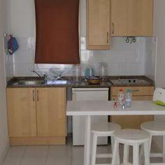 Küchenzelle in einem Apartement (Beispiel)
