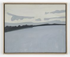 Alex Katz, Lake Wesserunsett, 1960