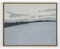 Alex Katz, Lake Wesserunsett, 1960