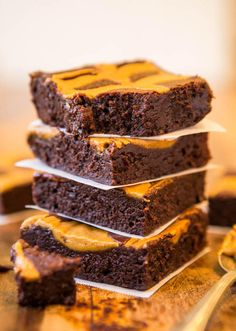 Sebastiann: Peanut Butter Swirled Fudgy Brownies #Lockerz