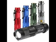 Top Flashlight - Cree 7W 300LM Mini LED One Mode Flashlight Reviews