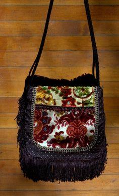 Pretty fringe boho bag