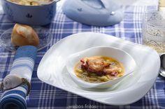 Verdinas con pulpo | webos fritos