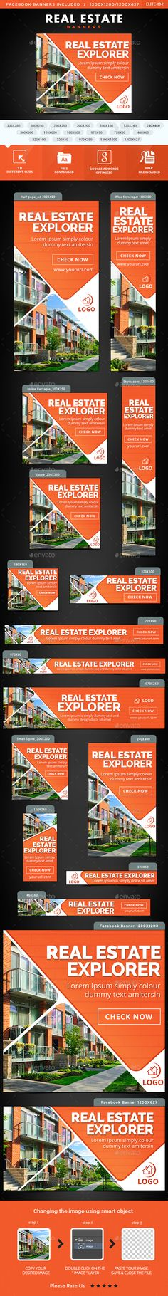 Real Estate Property Banner Ads | Banners, Web Banners And Banner