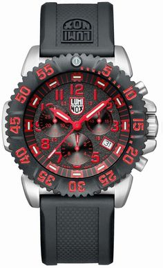 1427e0ee0e2 3195 - Authorized Luminox watch dealer - Mens Luminox NAVY SEAL STEEL  COLORMARK CHRONOGRAPH 3180