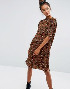 Buy it now. ASOS Plisse Animal Print Dress - Multi. Dress by ASOS Collection, Pleated fabric, Animal-effect print, Crew neck, Short sleeves, Side splits, Relaxed fit, Machine wash, 100% Polyester, Our model wears a UK 8/EU 36/US 4 and is 170cm/5'7 tall. ABOUT ASOS COLLECTION Score a wardrobe win no matter the dress code with our ASOS Collection own-label collection. From polished prom to the after party, our London-based design team scour the globe to nail your new-season fashion goals with…