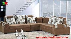 sofa nỉ hiện đại mang lại tính thẩm mỹ và kiểu dáng mẫu mã phù hợp với xu thế hiện nay