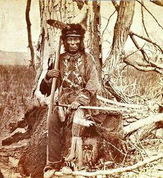 Chief Mato Wakon, Aka Medicine Bear Upper Yanktonai Sioux 1870's
