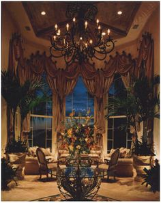 so gorgeous. Tuscan Living Rooms, Formal Living Rooms, Beautiful Living Rooms, Beautiful Homes, Beautiful Things, Living Room Designs, Living Room Decor, Dining Room, Tuscan Decorating