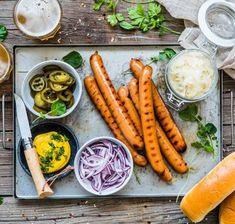 Grillad löjromspizza med västerbottensost, rödlök och gräddfil - Landleys Kök Carrots, Vegetables, Veggies, Vegetable Recipes