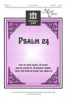 Psalm 24 (Chorister's Guild)
