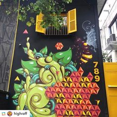 "6 Me gusta, 1 comentarios - André Hora (@andrehoraart) en Instagram: ""Beautiful graffiti in Sao Paulo by @highraff """