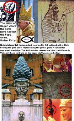 Satanic Symbols Revealed (Catholicism)                                                                                                                                                                                 More