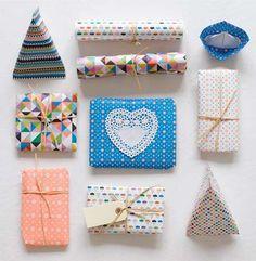 Colourful parcels