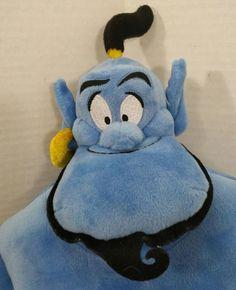 Disney Aladdin Genie Medium Plush Soft Stuffed Doll Toy 18/'/' 45 cm tall